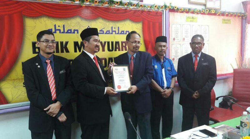 SMKADG Antara Asrama SMKA/SABK terbaik negeri Terengganu