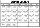 JADUAL WARDEN JULAI 2018